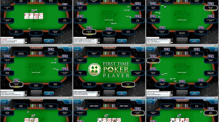 Jugar póker online: ¿Cuántas mesas debemos tener abiertas?
