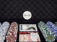 Jugar al póker: El botón