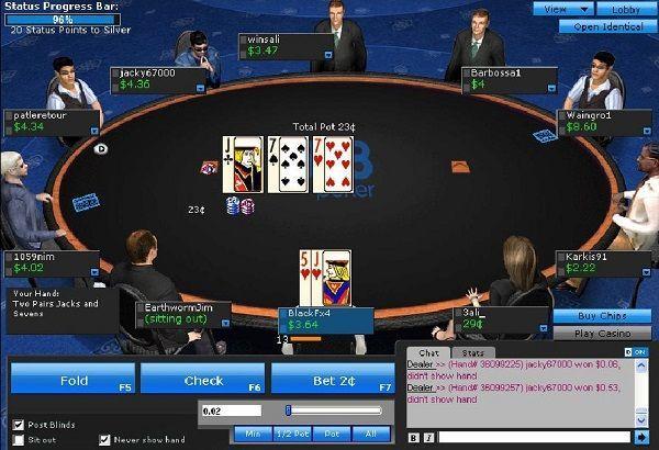 red de póker