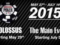 World Series of Poker 2015, anunciadas las fechas