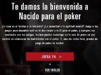 Nacido para jugar al póker