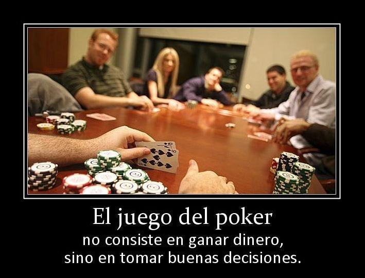 mente y el póker