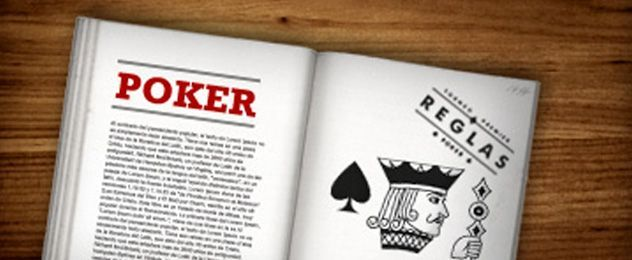 reglas en la mesa de póker