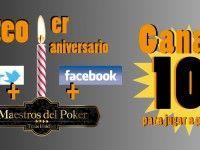 Maestros del Poker te regala 10 euros