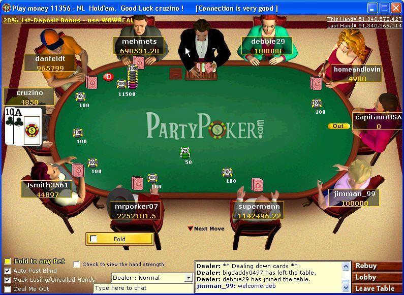 cambios en PartyPoker
