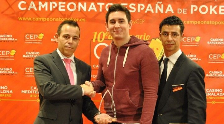 Campeonato de España de póker 2015, ya tiene campeón