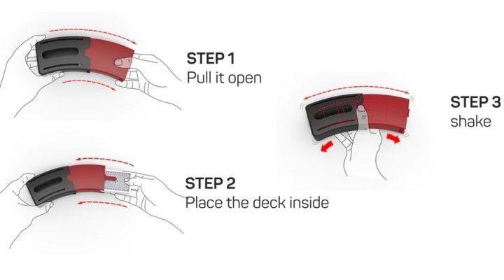 Shufflerbox, el barajador manual