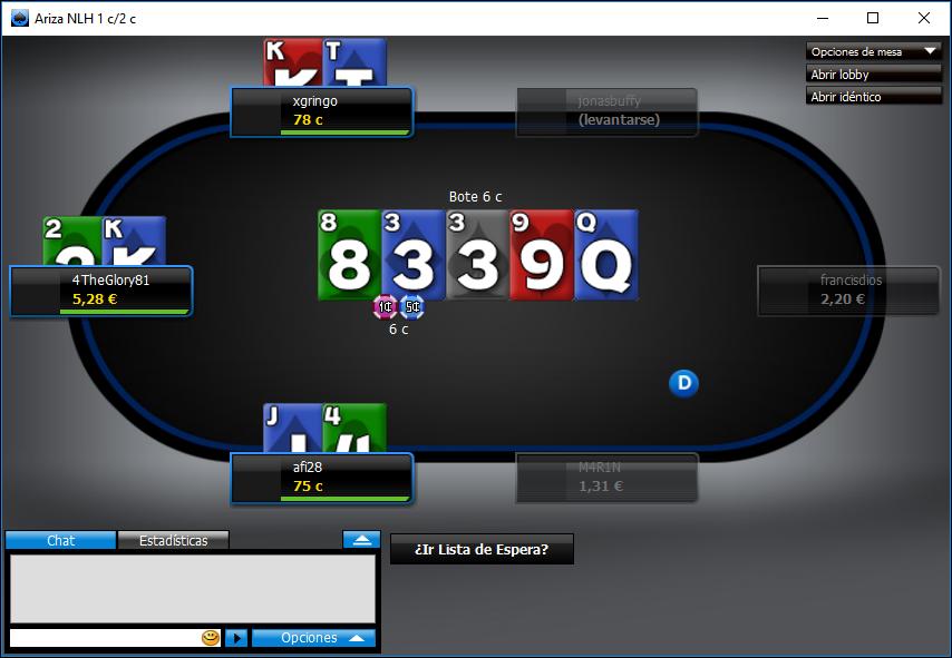 personalizar tu mesa de póker