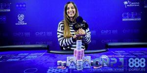Lucía Navarro hace historia en el poker nacional